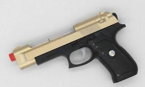 Gold-Eagle-Pistol-Toy-Gun-with-Light-Sound-amp-Vibration-Effects-For-Kids-NEW-UK