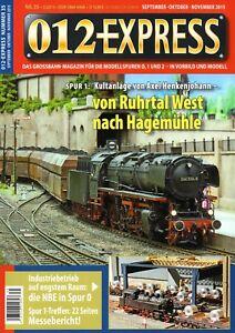 012 Express Nº 35 Grossbahn Magazine Piste 0, 1 Et 2 Top Neuf DernièRe Mode