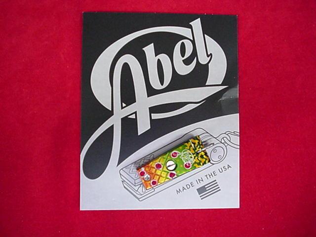 Abel Super Nipper Clipper Cutter BROOK TROUT GREAT NEW