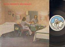 SOCIAL SECURITY Secureality LP N-MINT Michiel Hoogenboezem DUTCH NEW WAVE