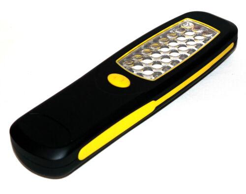 24 LED Taschenlampe Arbeitsleuchte Arbeitslampe Werkstattlampe Lampe Stablampe