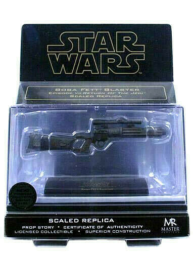 Star Wars BOBA FETT Blaster escala 0.33 Master Replicas