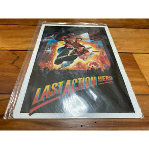LAST ACTION HERO JAPAN MOVIE SHITAJIKI UNDERLAY 1993 Arnold Schwarzenegger