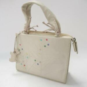 Radley Las Cream Leather Handbag