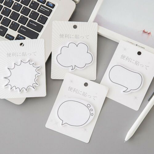 1 Piece Office Supplies Dialog Sticky Notes Notepad Memo Pad School Stationery