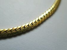 "Vintage large Bracelet yellow Gold Filled Unisex #fashion 3mm #Jewelry  8½"" NICE"