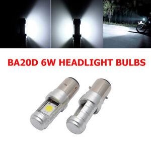 2PCS-BA20D-H6-LED-Motorcycle-MotorBike-Moped-ATV-Headlight-Headlamp-Light-Bulb