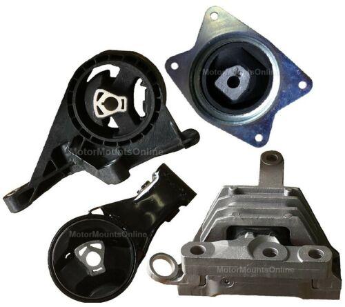 9MB145 4pc Motor Mounts fit FWD 2.4L ENGINE Buick Regal 2011-2017 Transmission