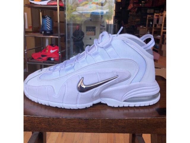 Nike Air Max Penny 1 White Metallic   685153 100 Retro Shoes