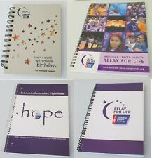 Relay For Life Notebooks Spiral Bound Lot Of 7
