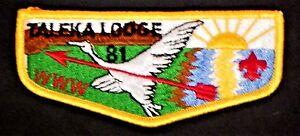 MERGED-TALEKA-OA-LODGE-81-OKAW-VALLEY-AREA-COUNCIL-115-32-114-SERVICE-FLAP-MINT