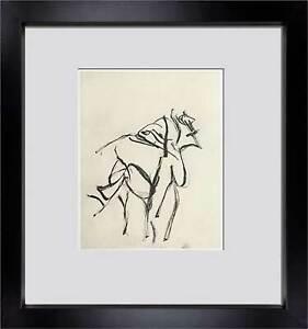 Willem DE KOONING Lithograph Original Numbered Ltd.EDITION w/ Frame