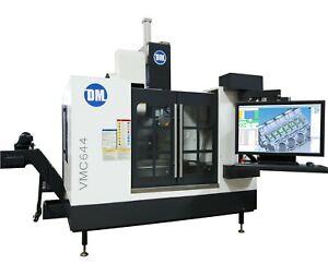 Details about DM VMC644   CNC Machining Center   3, 4, 5 Axis   Built in  CAD/CAM/CMM Software