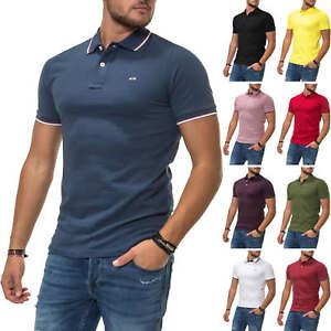 Jack-amp-Jones-senores-camiseta-polo-de-manga-corta-Camisa-Business-ocio-camisa-color-Mix-nuevo