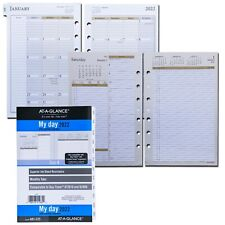 2022 At A Glance 481 225 Day Runner 2 Pages Per Day Planner Refill 55 X 85