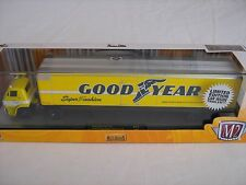 M2 Auto Haulers Goodyear '69 Dodge L600 & '69 Dodge Charger Daytona 440
