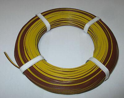 1m = 0,279€ Zwillingslitze 50m gelb//braun      *NEU*