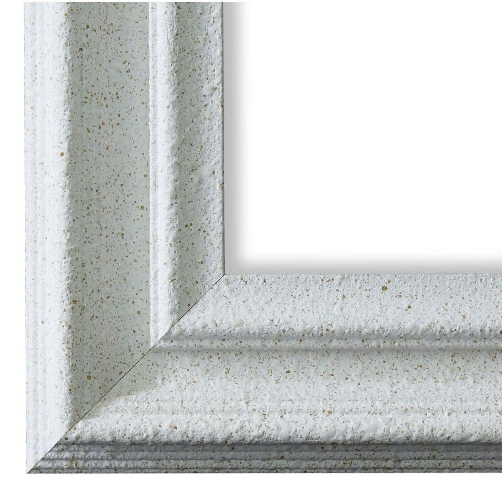 Bilderrahmen Trento Weiss - 80x80 80x90 80x100 80x120 90x90 90x100 100x100