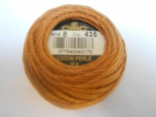 "DMC Perle 8 Cotton Ball Colour Tan ""436"""