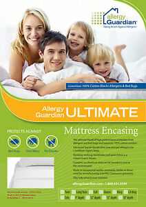 Allergy-Guardian-King-Single-Bed-Cover-Anti-Dust-Mite-Bed-Bug-100-Cotton
