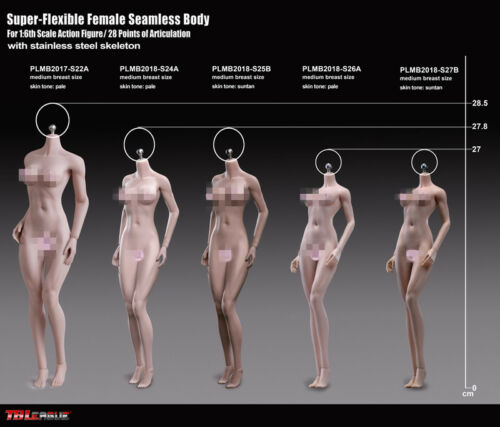 TBLeague 1//6th Seamless PLMB2018-S25B Figure Not Include Head Sets Female Model