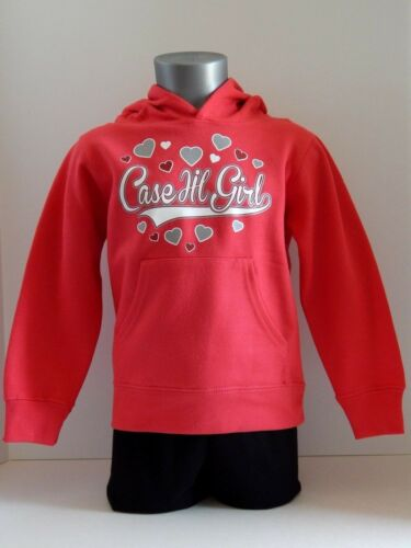 "3T  /""Case IH Girl/"" Case IH Toddler Girls Raspberry Pullover Hoodie-Size 2T"