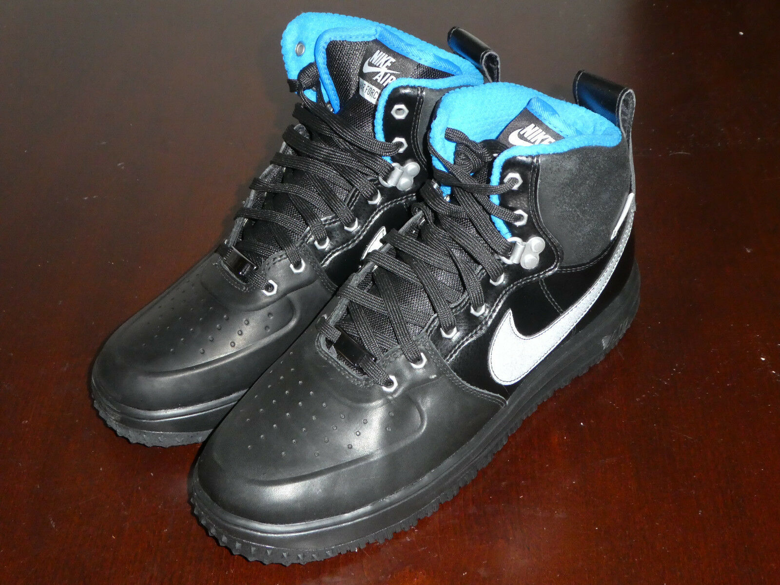 Nike Lunar Force 1 sneakerboot boots shoes mens new 654481 003