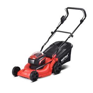 NEW Matrix 40V Lawn Mower Cordless Lawnmower 1.5ah Lithium Battery&0.5ah Charger