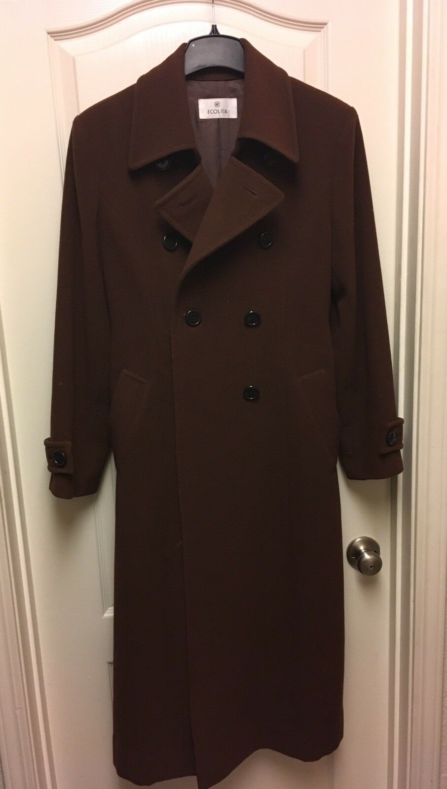 Womens Wool Double Breasted Winter Coat Size Medium Ecolier Brand Brand Brand d96b38