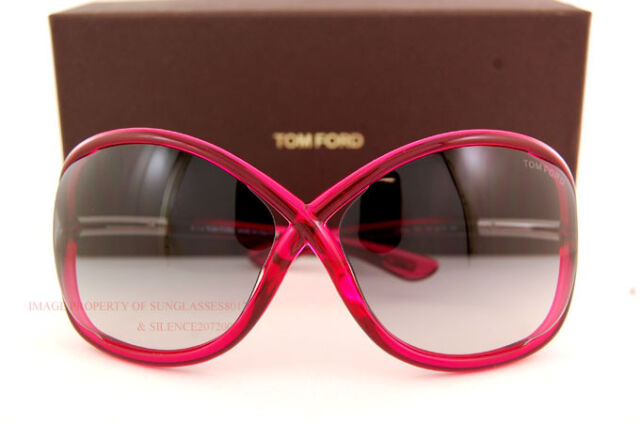 f1bad6f60cb01 Brand New Tom Ford Sunglasses TF 0009 Whitney 72B Fuchsia Grey Gradient  Women