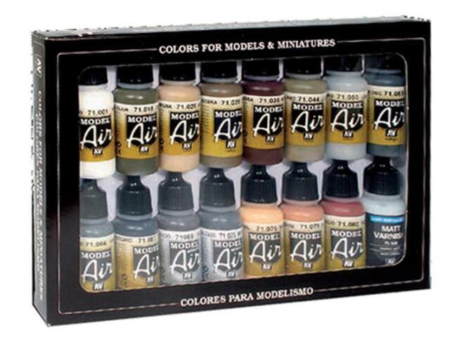 Vallejo 71.208 - Tedesco Colori ,WWII ,Europa e Africa (14,52 €/100ml )