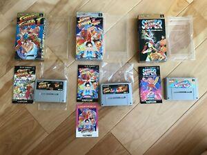 Lot-Street-Fighter-2-turbo-SUPER-SFC-Super-Famicom-Japan-NTSC-J-SNES-Tested-Work