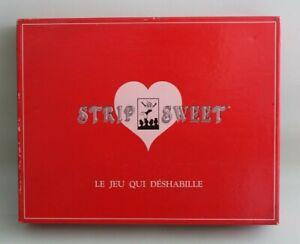 Mon ChéRi Jeu Striptease Strip Sweet Le Jeu Qui Déshabille - Jeu Coquin Adultes, Couples.. AgréAble En ArrièRe-GoûT