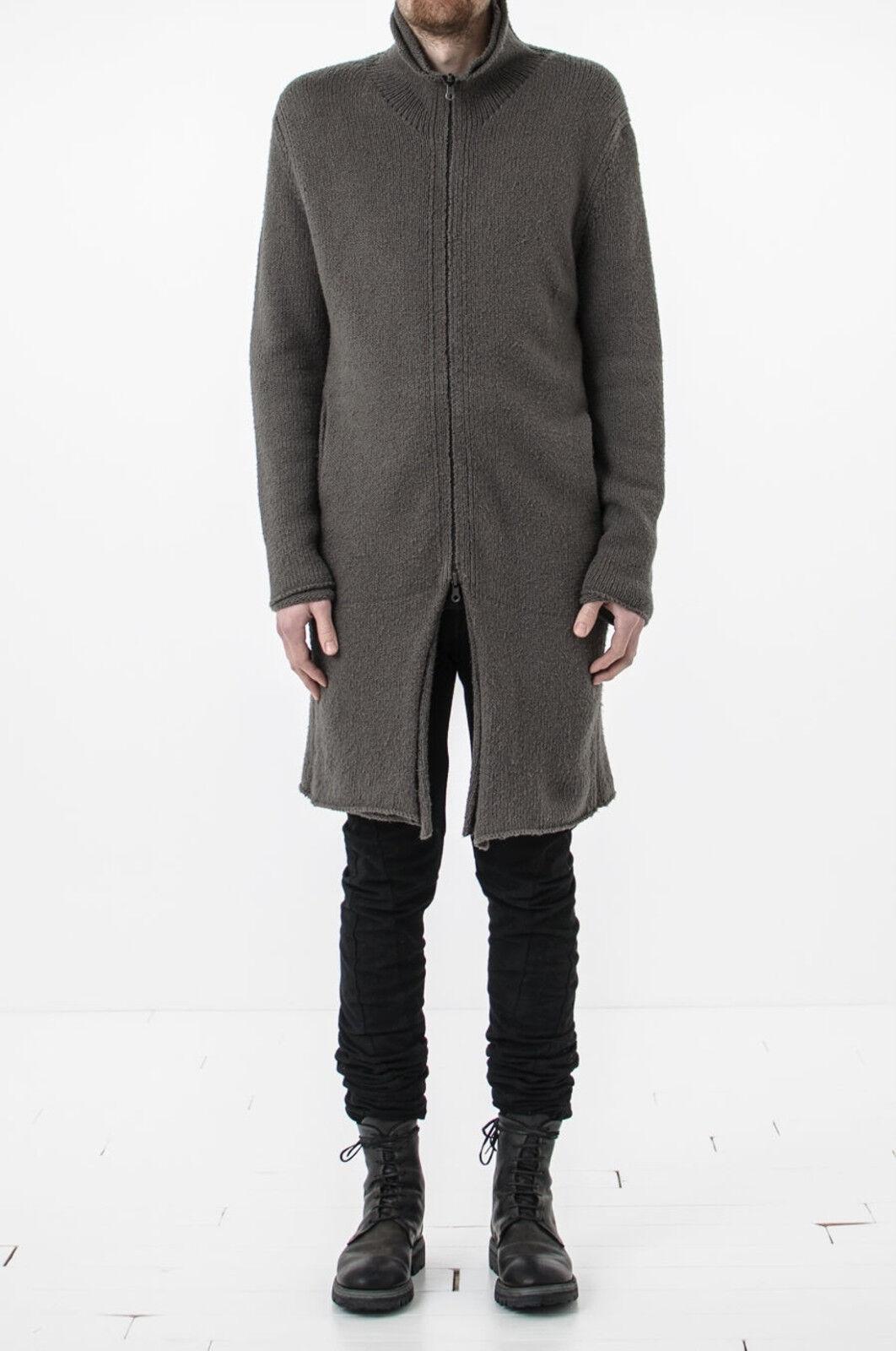 Label Under Construction - Double Layer Reversible Knit Coat - sz. M S L