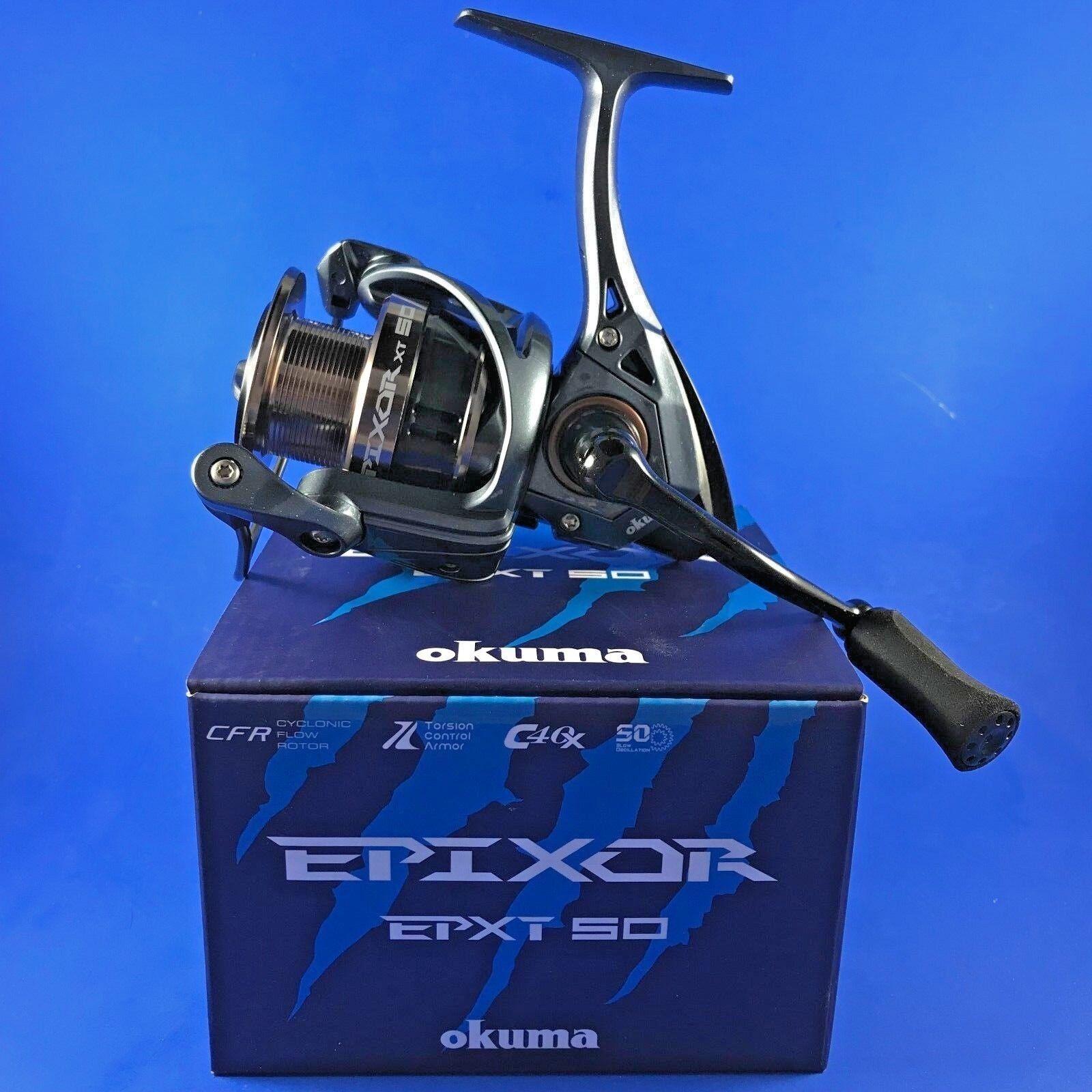 Okuma Epixor XT EPXT-50 FD 7+1BB 5.0 1 58610 Front Drag Fishing Reel