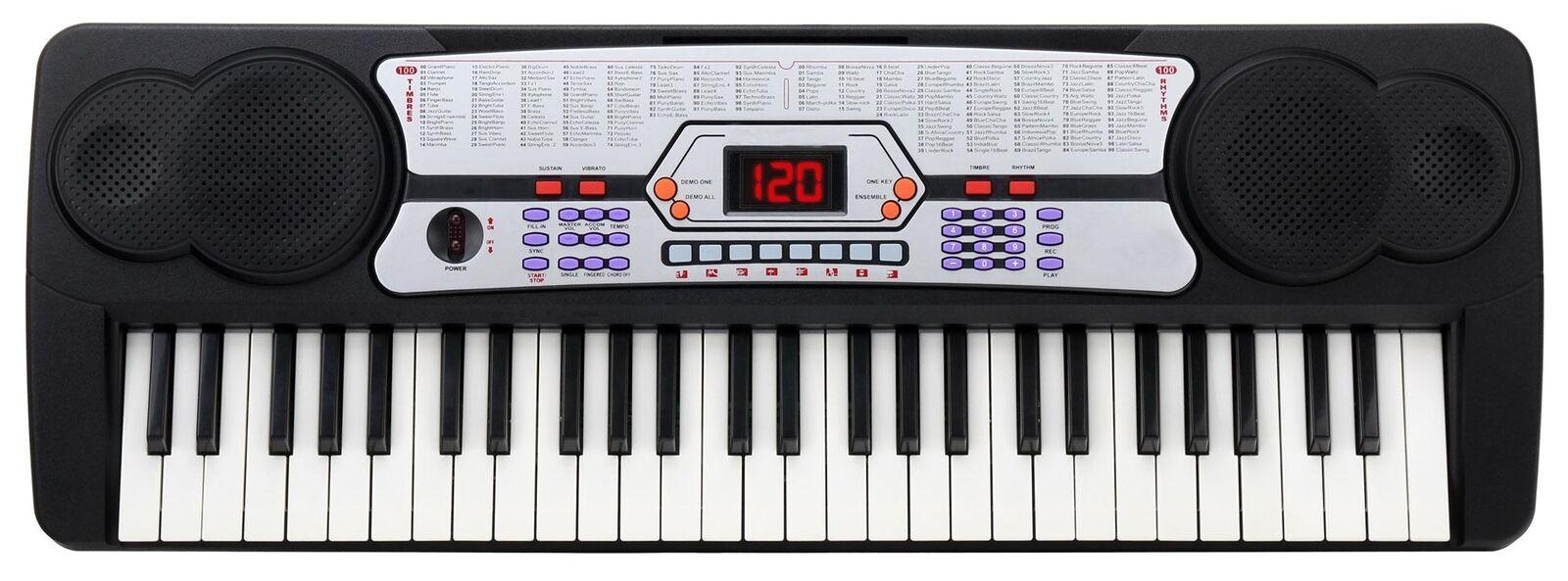 outlet online economico Digital 54 TASTI PRINCIPIANTI Keyboard Keyboard Keyboard E-pianoforte Klavier 100 suoni 100 ritmi  negozio all'ingrosso