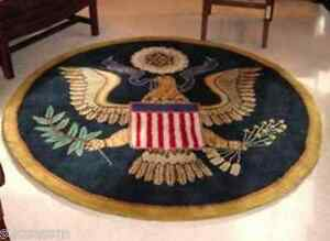 Image Is Loading White House Great Seal Presidential Rug Gift
