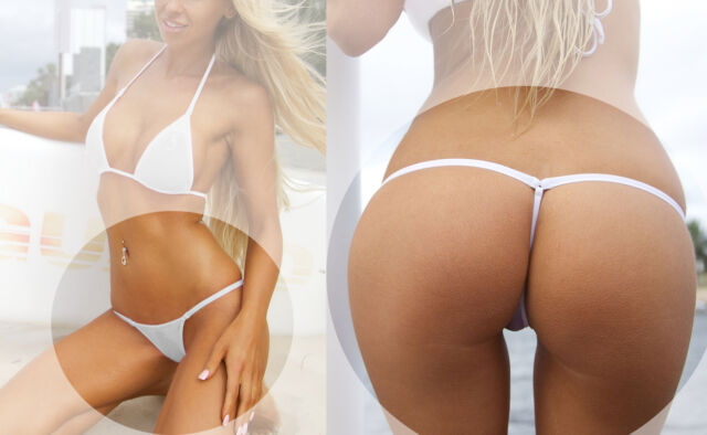 SEXY BIKINI THONGS BOTTOM WHITE SEX TANGAS WHITE POLE DANCER Y BACK MICRO