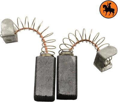 0.25x0.49x0.79/'/' Balais de charbon pour AEG Grinder WS230S