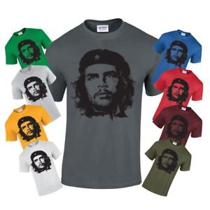Politica Che Casual Iconic Adult stampato Tshirt Retro Screen New Guevara regalo qxqTO18