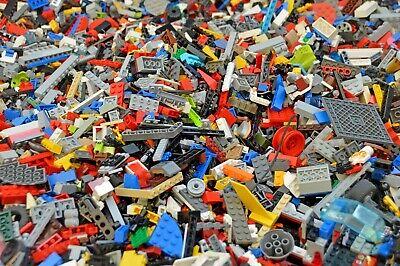 Lego 1 KILO Gemischt-Kiloware,Basic,Steine,Platten,Räder,... Gebraucht