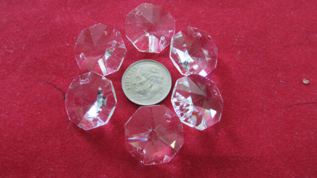 500 PCS 18 MM 500 pcs16 mm OCTAGON CRYSTAL GLASS BEAD