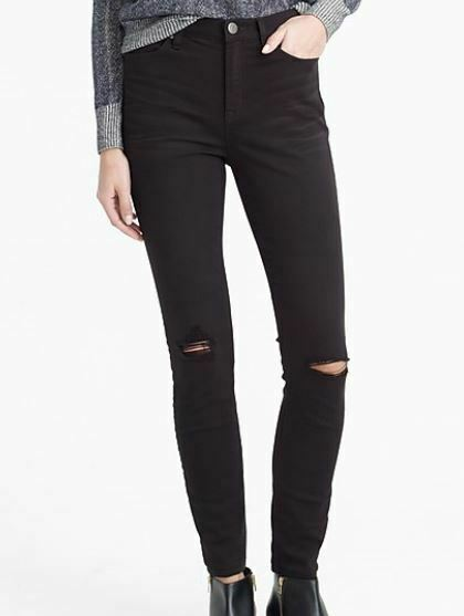 Crew PALO ALTO J. Rise jeans in fabbro Lavare W 27 8 10 in buonissima condizione