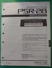 original yamaha portatone psr 4500 x4500 digital keyboard service rh ebay com Customer Service Books Manual Book