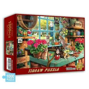 Cute-Cats-Jigsaw-Puzzle-1000Piece-Puzzles-For-Adults-Toy-Kids-Education-I5E7