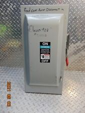 Siemens Gf323n Fusible Safety Disconnect Switch 100 Amp 100a