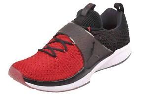 aa108e9170e2 Nike Air Jordan Men s Black Red White Trainer 2 Flynit Sneakers ...