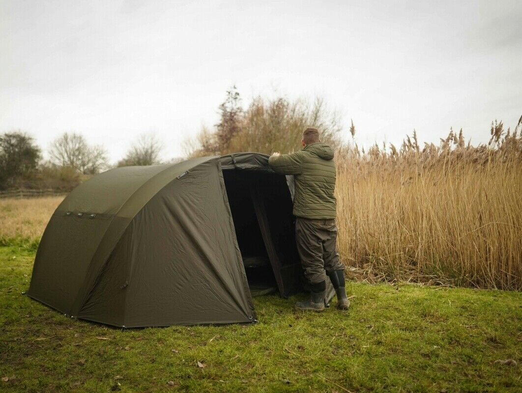 Avid Ascent Bivvy Overwrap One Or Two Man NEW Winter Overwrap