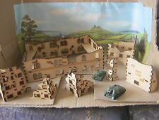 8x 15mm Ruins Set B wargame Buildings 3mm MDF Laser Cut Flames of War etc