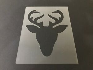 Reindeer-1-Stencil-10mm-or-7mm-Thick-Hunting-Christmas-Crafts-Santa-Snow